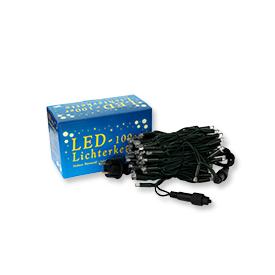 Easyfix Mini-Lichterkette 100 LED mit Kabel für Außenbereich