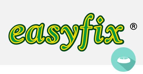 easyfix Logo registered Trademark mit Logo Christbaumständer
