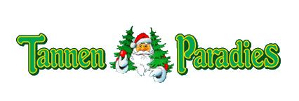 Tannen-Paradies Logo mit Nikolaus mittig