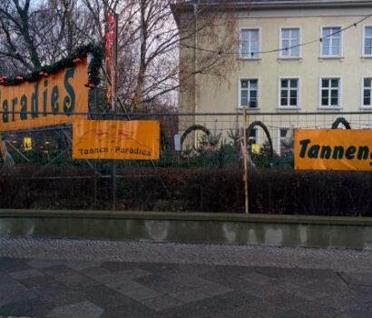 Tannen-Paradies Verkaufsplatz in Berlin Hohenzollern