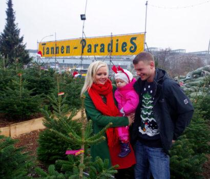 Tannen-Paradies Verkaufsplatz Berlin Südkreuz