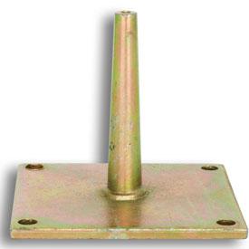 Easyfix Aufnahmedorn mit Platte galvanisch verzinkt